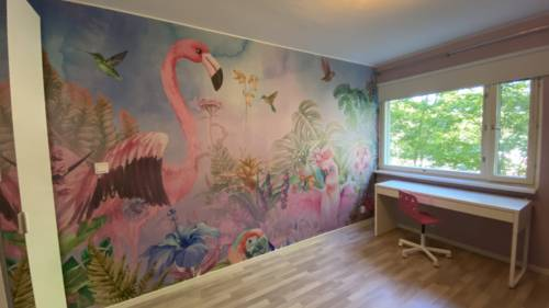 Lastenhuoneen tapetointi: photowall